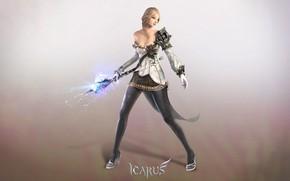 Картинка девушка, магия, игра, Icarus