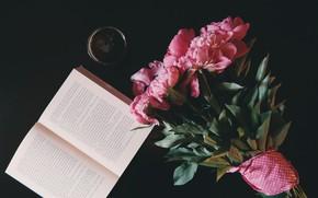 Картинка Flower, Wallpaper, Mood, Book