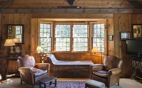 Картинка дерево, интерьер, гостиная, hardwood, small room