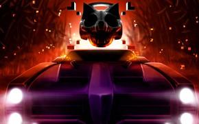 Картинка Music, Cover, Monstercat, Contra, Rocket League, Vol. 4, Pixel Terror