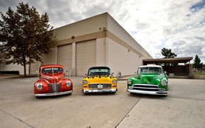 Обои Cars, Colors, Retro, Vintage cars