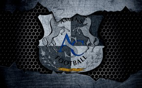 Картинка wallpaper, sport, logo, football, Amiens