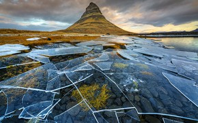 Картинка Kirkjufell, Snæfellsnes Peninsula, Iceland