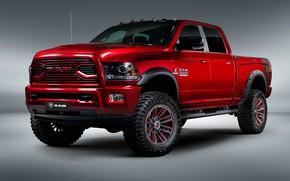 Обои Dodge, пикап, 2018, Ram, 2500, Apache Customz Trucks