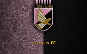 Картинка wallpaper, sport, logo, football, Palermo, Italian Seria A