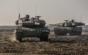 Картинка Germany, Танки, Bundeswehr, Leopard 2A7