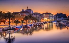 Картинка Ria de Aveiro, Португалия, Portugal