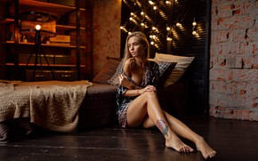 Картинка взгляд, модель, Девушка, фигура, тату, ножки, Григорий Лифин, Саша Сказка