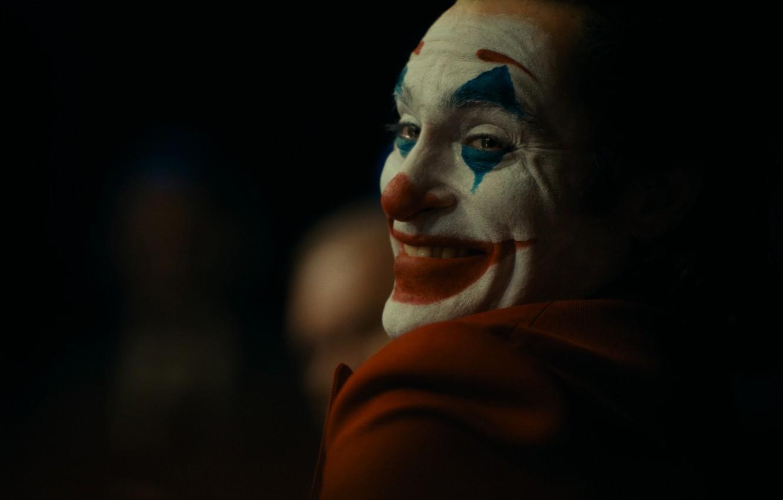 Фото обои улыбка, клоун, Джокер, триллер, драма, Joker