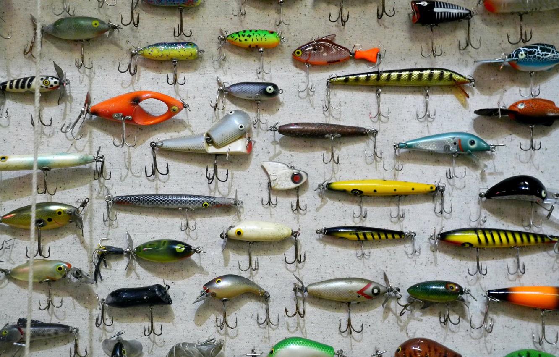 Обои rybki, удочка, грузила, снасти, боке, леска, рыбалка, сеть, крючки. Разное foto 8