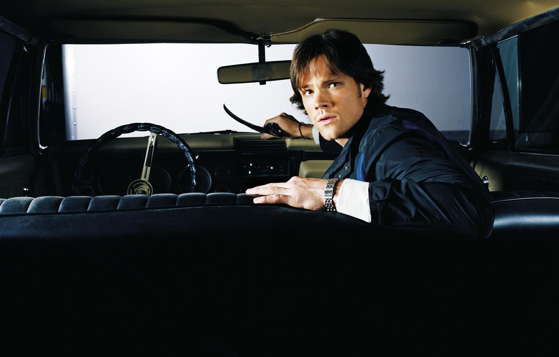 Фото обои сериал, Supernatural, Сверхъестественное, Сэм