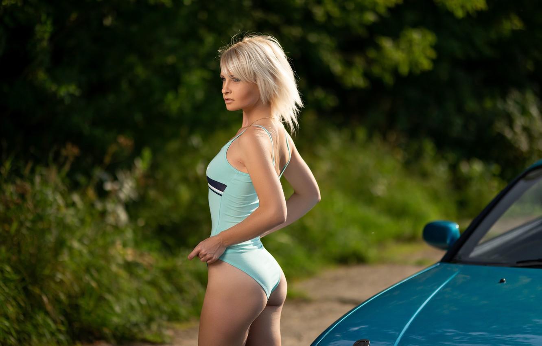 Фото обои купальник, девушка, поза, фигура, Илья Пистолетов