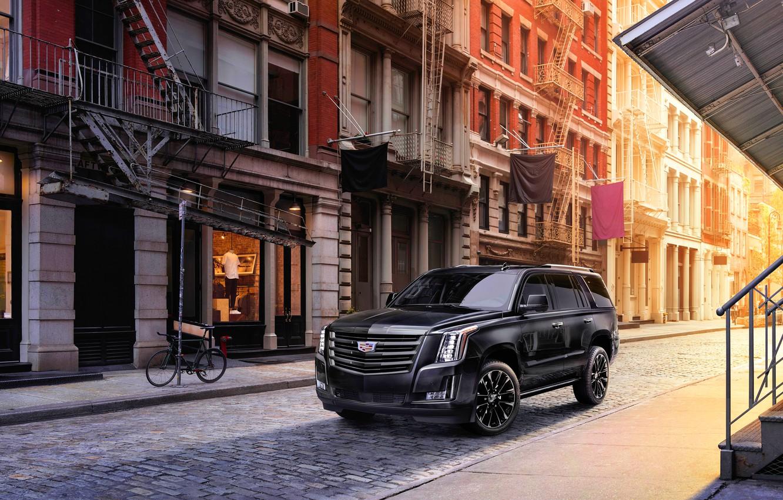 Фото обои Cadillac, Cadillac Escalade, Sport Edition, 2019, Cadillac Escalade Sport Edition 2019