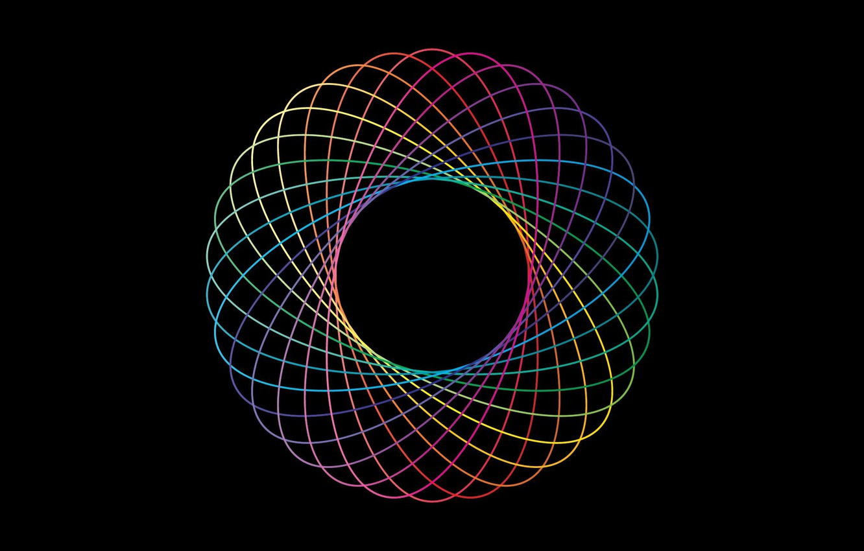 Обои краски, узор, Кольцо, Цвет. Абстракции foto 10