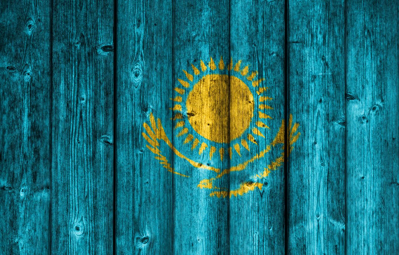 Фото обои Eagle, Wood, Sun, Bird, Kazakhstan, Kazakh Flag, Flag Of Kazakhstan, Kazakh, Flag Of Kazakhstan On …