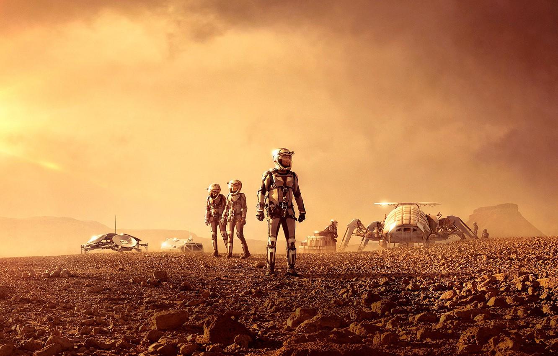 Фото обои Series, Mars, National Geographic Channel
