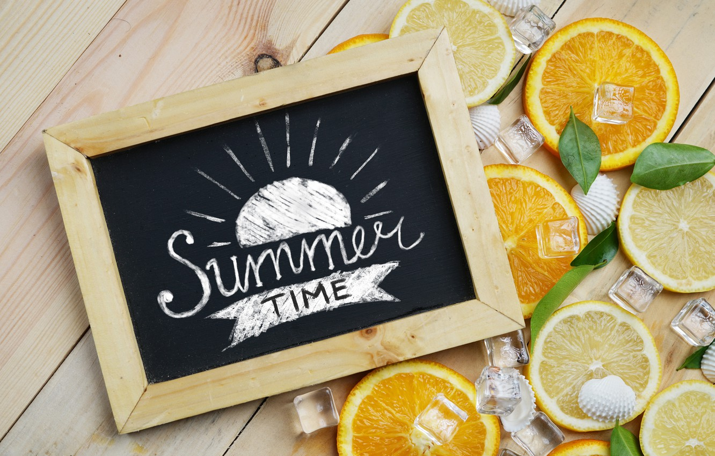 Фото обои лимон, апельсин, лёд, lemon, ice, summer, фрукты, fruit, orange, citrus, hello, slice