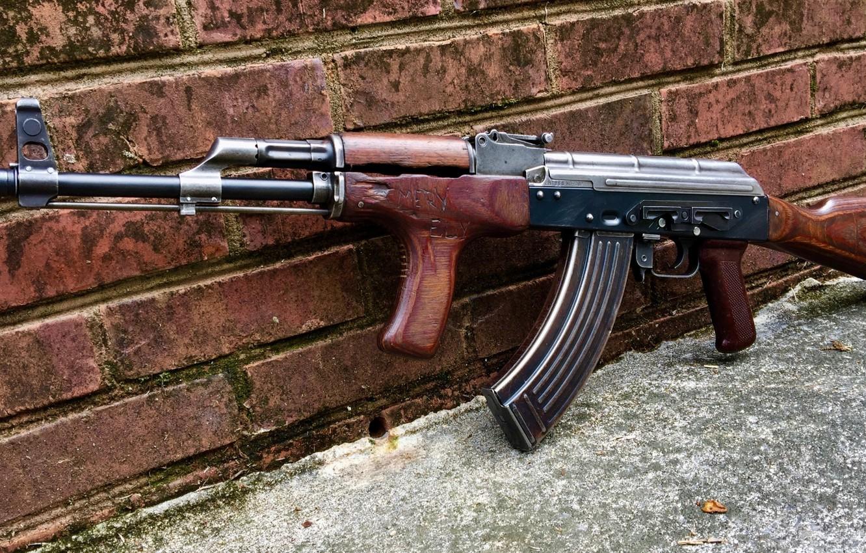 Фото обои оружие, тюнинг, Автомат, Gun, weapon, Калашников, АКМ, Штурмовая винтовка, Русский, AKM, штурмовая винтовка, assault Rifle