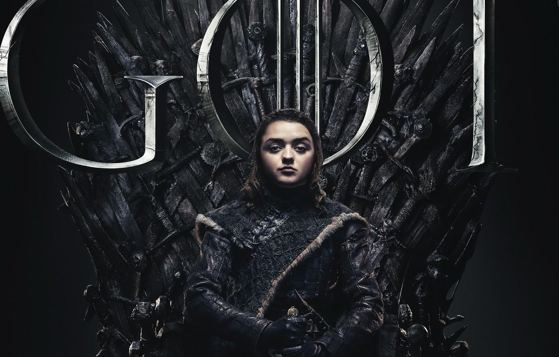 Фото обои Game of Thrones, Игра престолов, Ария, 8 сезон, Season 8