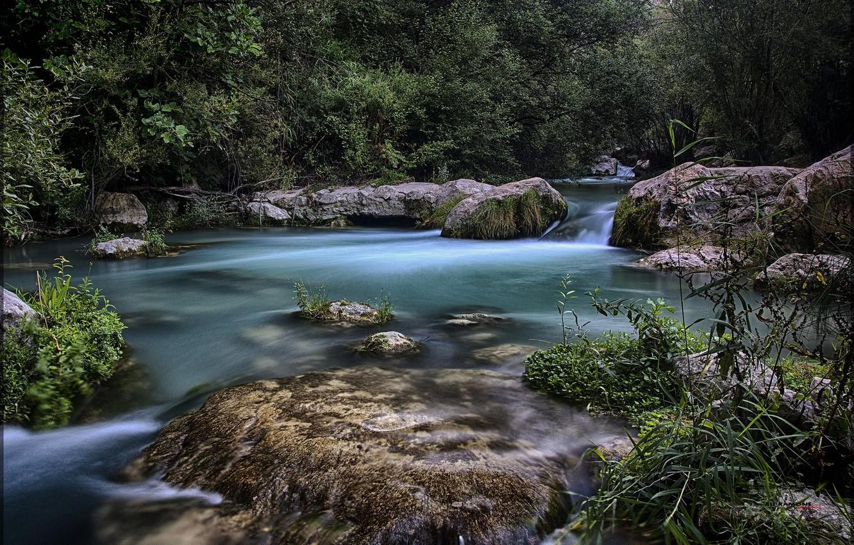 Фото обои пейзаж, природа, озеро, красота
