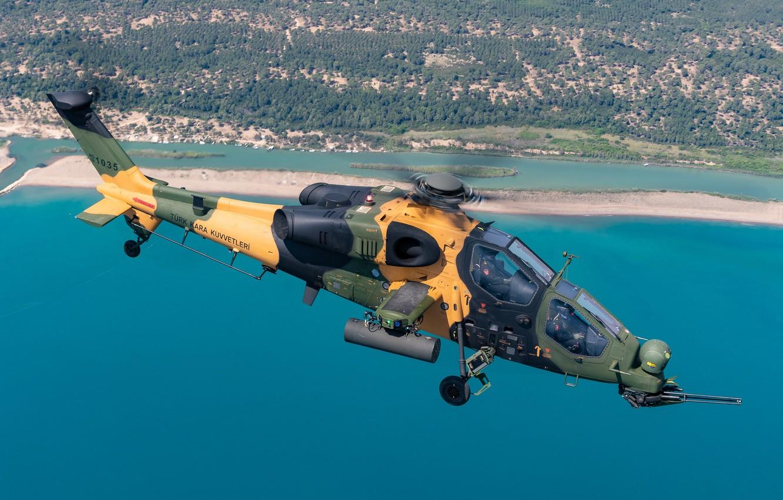 Обои T-129B, ВВС Турции, Ударный вертолёт. Авиация foto 6