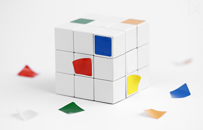 Фото обои кубик Рубика, потеря, loss, Rubik's cube