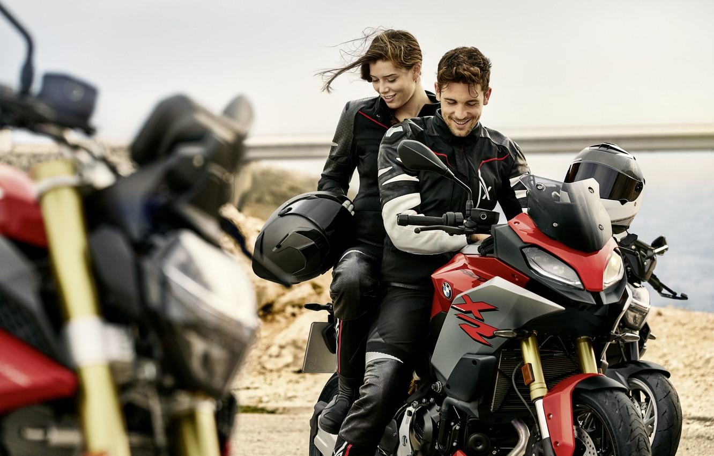 Фото обои BMW, БМВ, спортивный мотоцикл, 2020, BMW F 900 XR, best-selling adventure sport bike, even lighter …