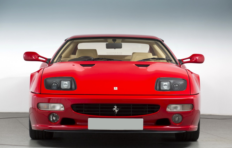 Фото обои Red, Sportcar, Ferrari 512