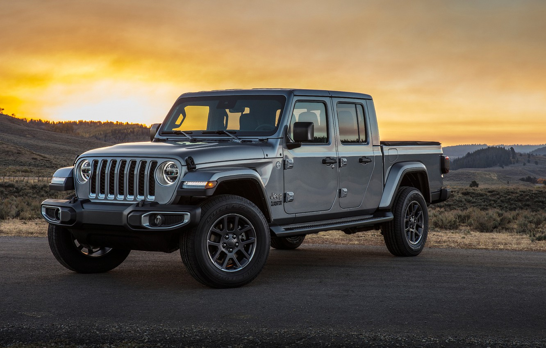Фото обои Gladiator, Jeep, Overland, 2019, Jeep Gladiator Overland