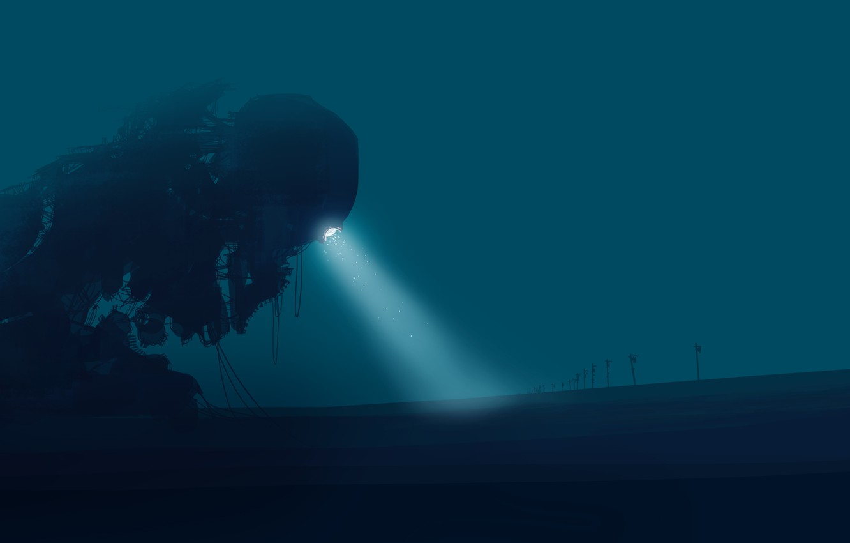 Фото обои монстр, инопланетянин, постапокалипсис