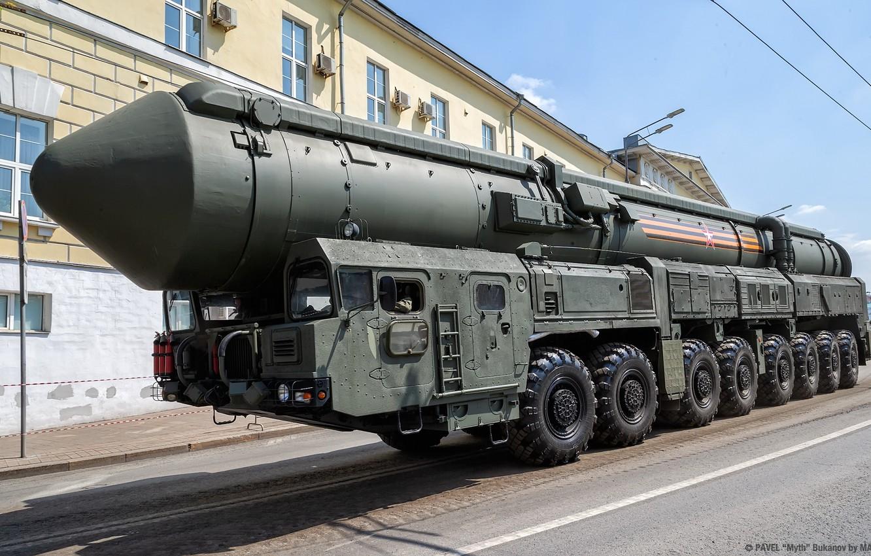 Фото обои ballistic missile system, RS-24, SS-27