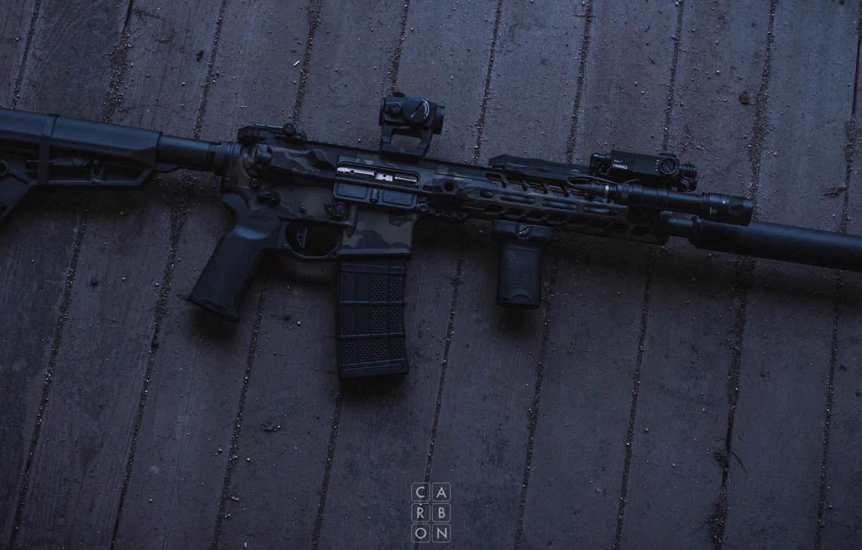 Фото обои оружие, винтовка, weapon, custom, ar-15, assault rifle, assault Rifle, ар-15, ар 15, ar 15