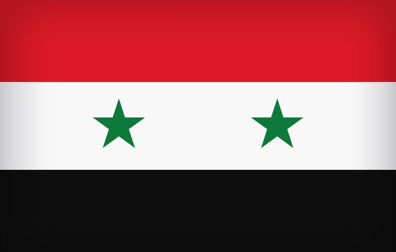 Фото обои Flag, Syria, Syrian Arab Republic, Syrian, Flag Of Syria, Syrian Flag, Western Asia