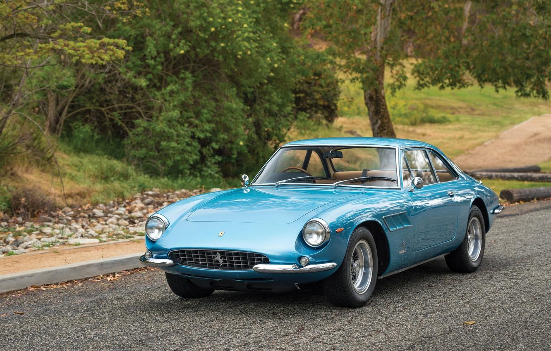 Фото обои авто, ретро, Ferrari, 500, Superfast Pininfarina
