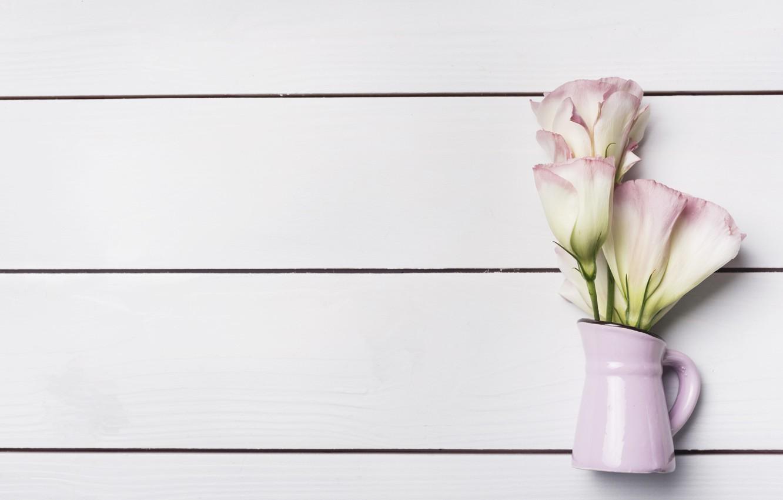 Фото обои flower, wood, эустома, Eustoma