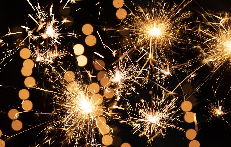 Обои искры, бенгальский огонь, sparkler. Разное foto 9