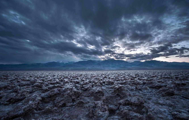 Фото обои природа, Death Valley, Devil's Golf