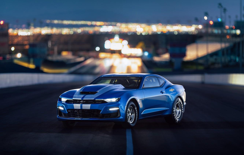 Фото обои Chevrolet, Camaro, 2018, 50th Anniversary, COPO, SEMA 2018
