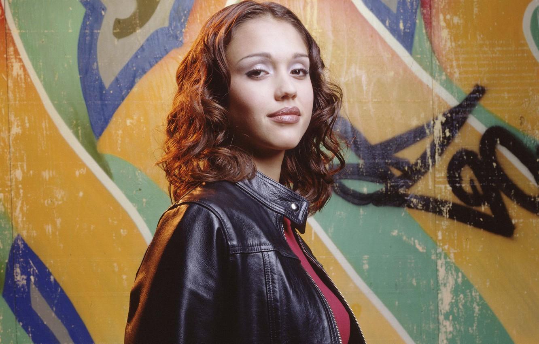 Фото обои Джессика Альба, сериал, Dark Angel, Тёмный ангел