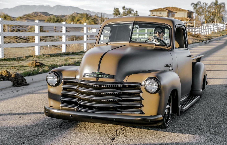 Фото обои Chevrolet, Truck, Custom, 3100