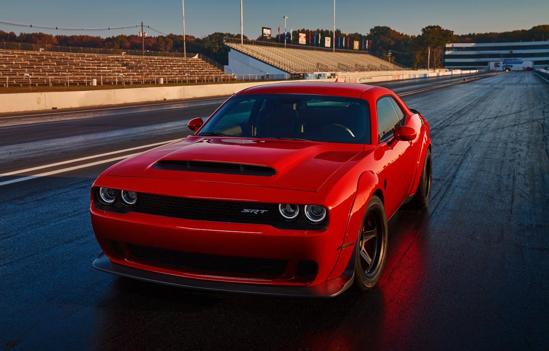 """Фото обои Dodge, Dodge Challenger, Demon, Challanger, Challenger Demon, Dodge """"Demon"""" Challenger, Dodge Demon"""