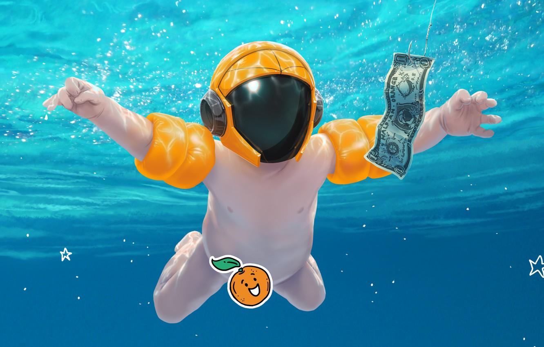 Фото обои Music, Cover, Monstercat, Half an Orange, Sunscreen