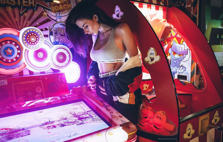 девушка игровые автоматы