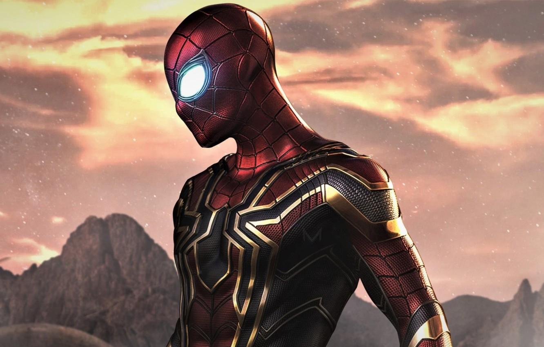 Фото обои человек-паук, костюм, супергерой, Marvel, комикс, Comics, Spider-Man, Peter Parker, Far From Home