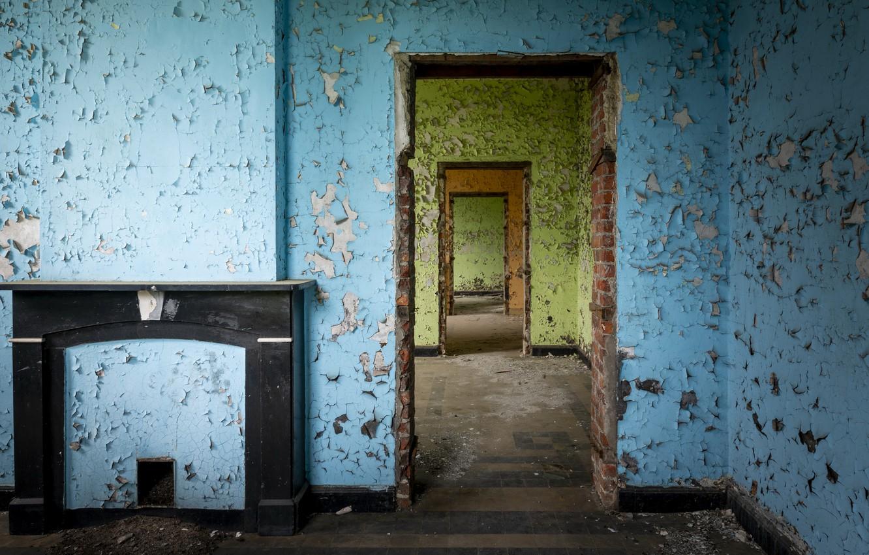 Фото обои комната, стены, натурализм