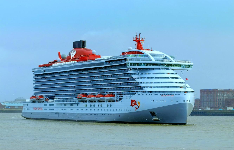 Фото обои корабль, лайнер, круизный