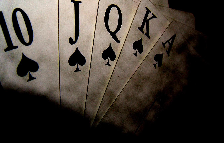 Фото обои карты, масть, покер