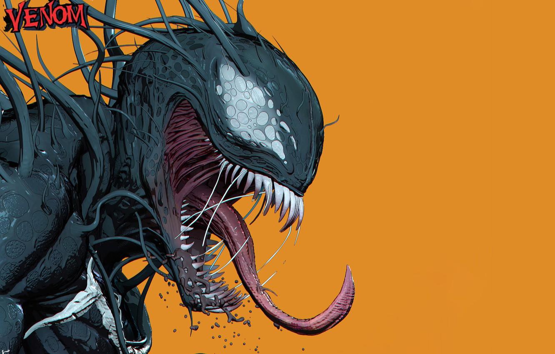 Фото обои Язык, Зубы, Marvel, Веном, Venom, Симбиот, Creatures, Kenny Carmody, by Kenny Carmody, Venom Seperation Anxiety …