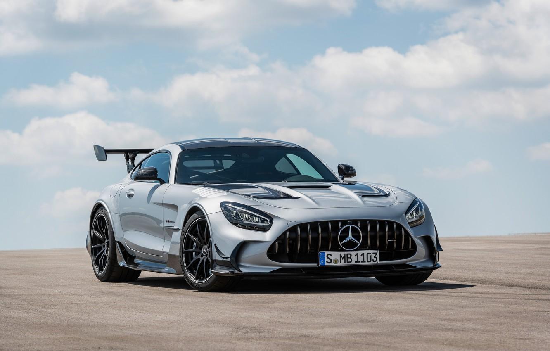 Фото обои Mercedes, AMG, C190, 2020, Worldwide, GT Black Series