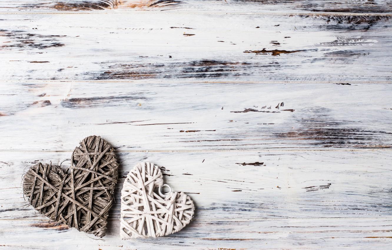 Фото обои любовь, сердце, сердечки, love, wood, romantic, hearts, wooden, valentine